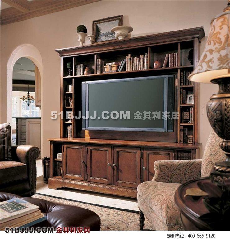电视柜,简欧电视柜 美式乡村