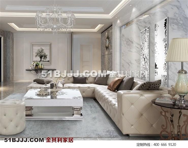 后现代客厅沙发套装 时尚新颖